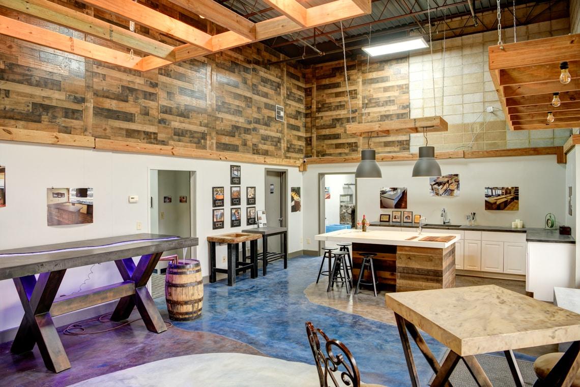 Concrete Designs Showroom
